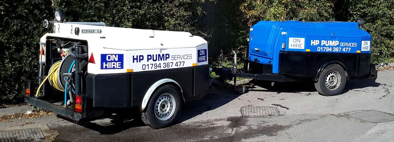 High Pressure Pumps Rental / Hire |